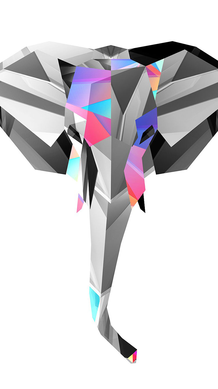Polygon iPhone Wallpaper 10