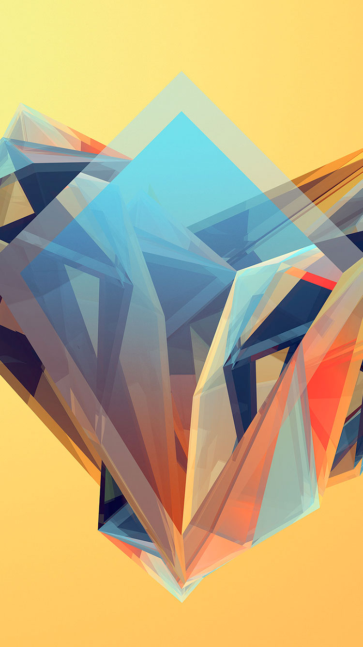 Polygon iPhone Wallpaper 11