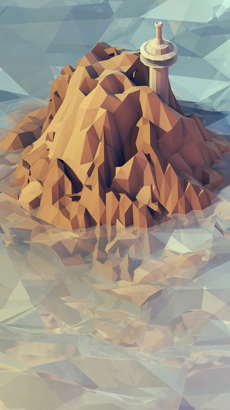 Polygon iPhone Wallpaper 22