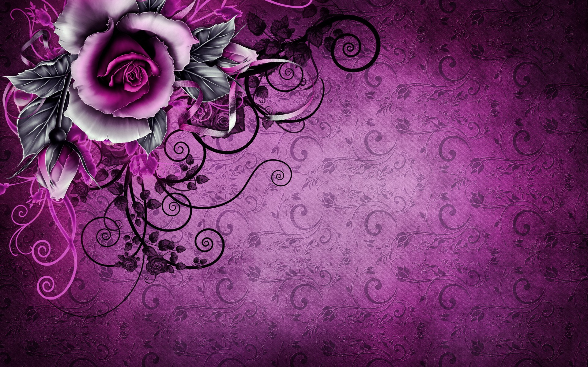 Red And Black Background >> 30 HD Purple Wallpapers