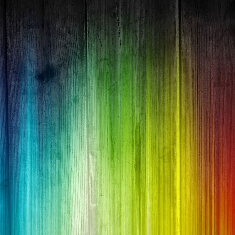 Rainbow iPad Wallpaper 13