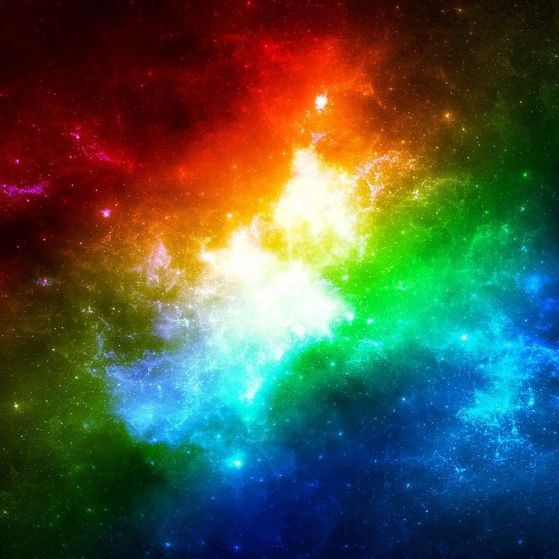 Rainbow iPad Wallpaper 18