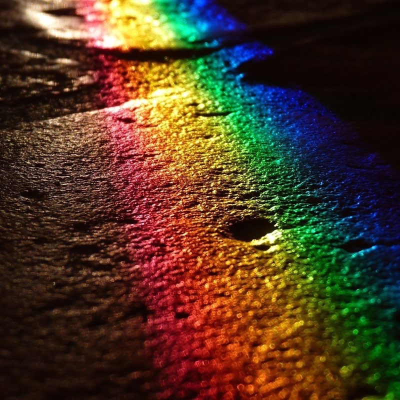 Rainbow iPad Wallpaper 2