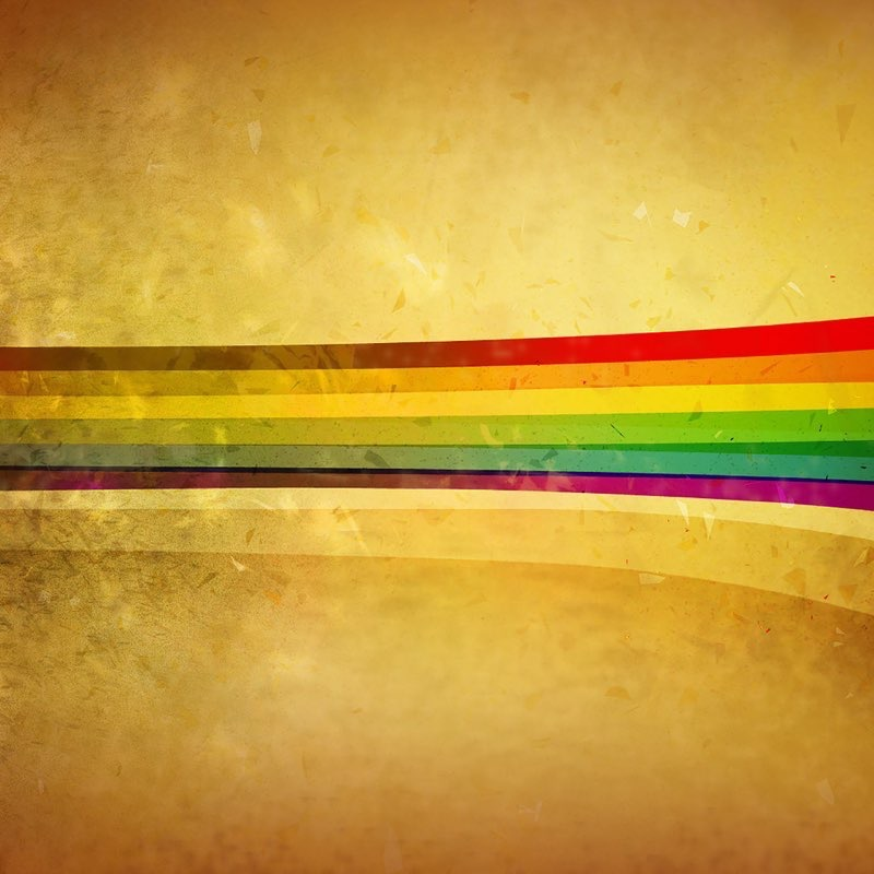 Rainbow iPad Wallpaper 3