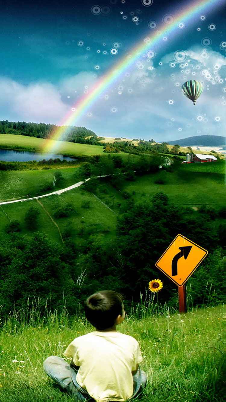 Rainbow iPhone Wallpaper 19