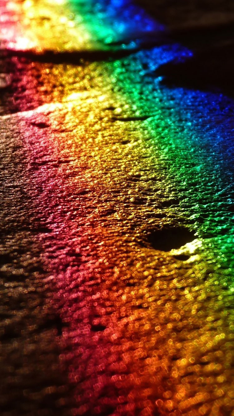 Rainbow iPhone Wallpaper 2