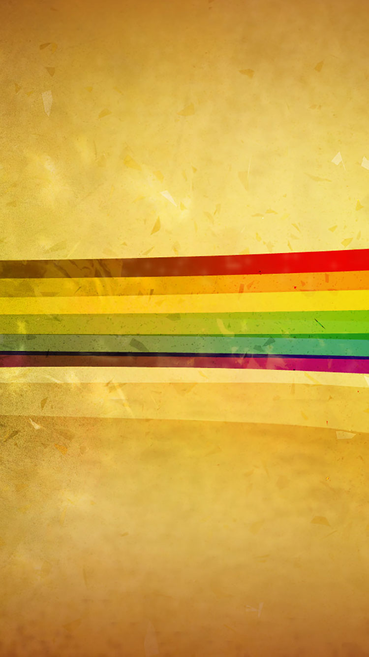 Rainbow iPhone Wallpaper 3