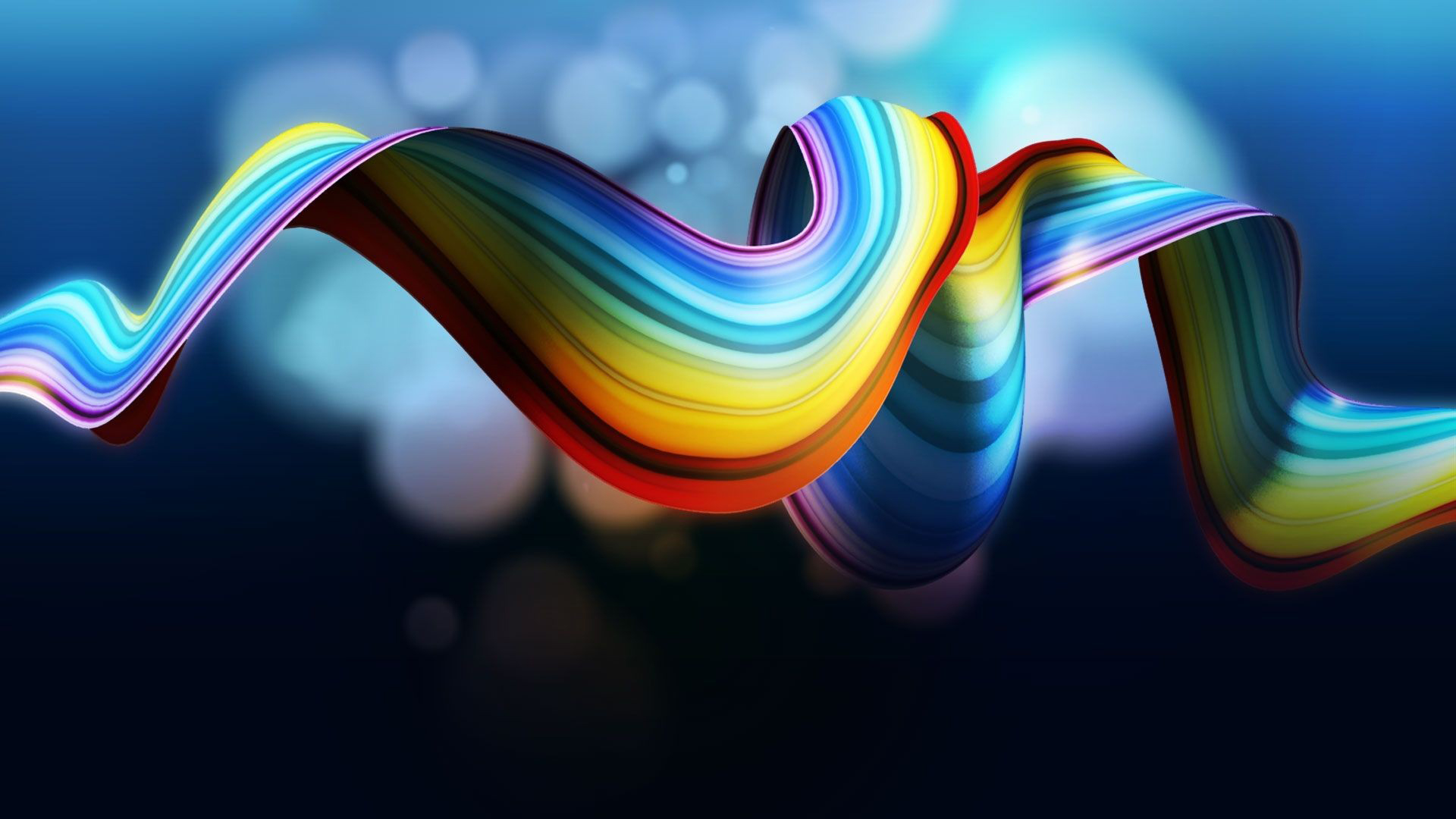 25 hd rainbow wallpapers 3d design free