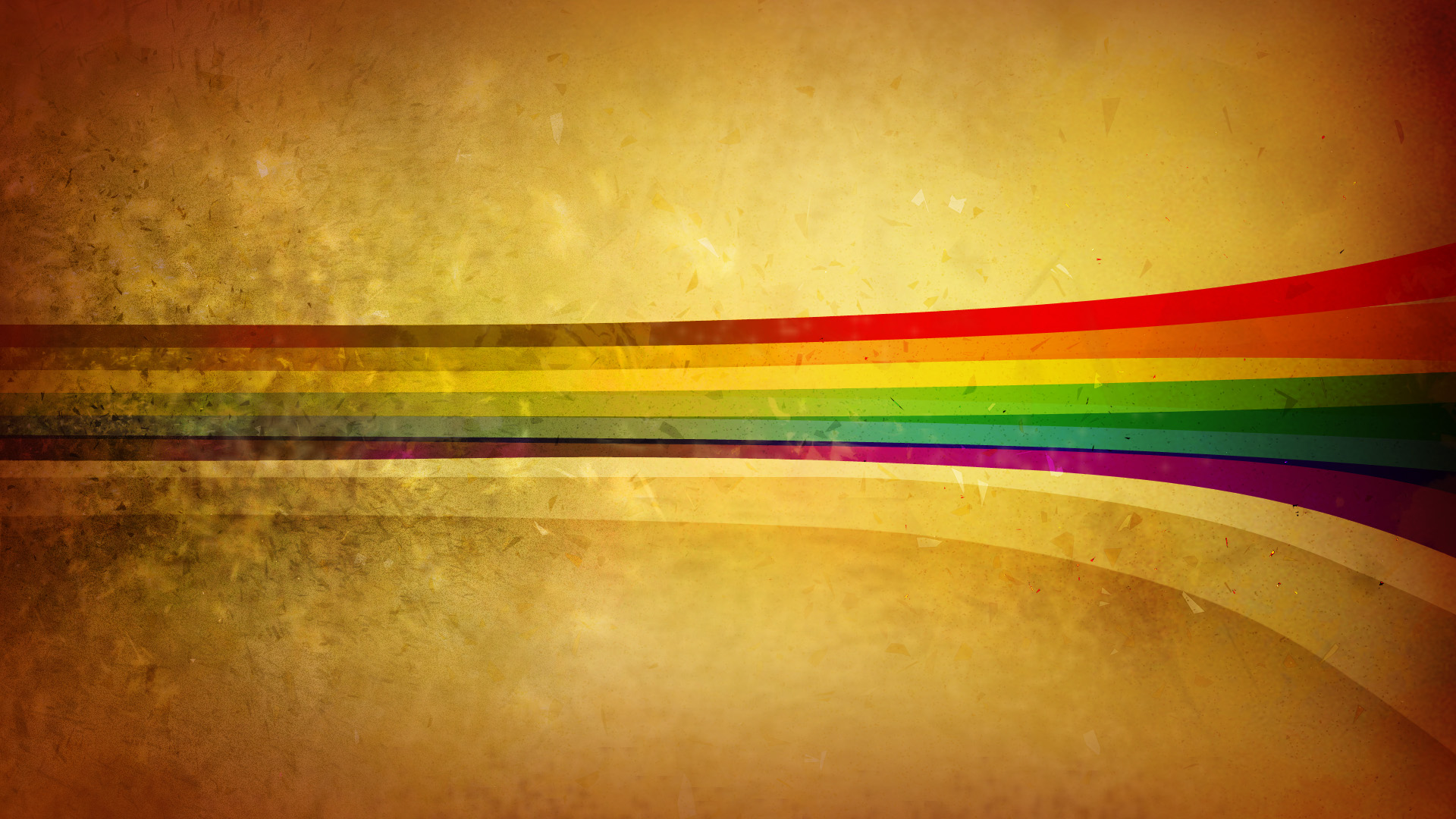 25 hd rainbow wallpapers for Retro wallpaper