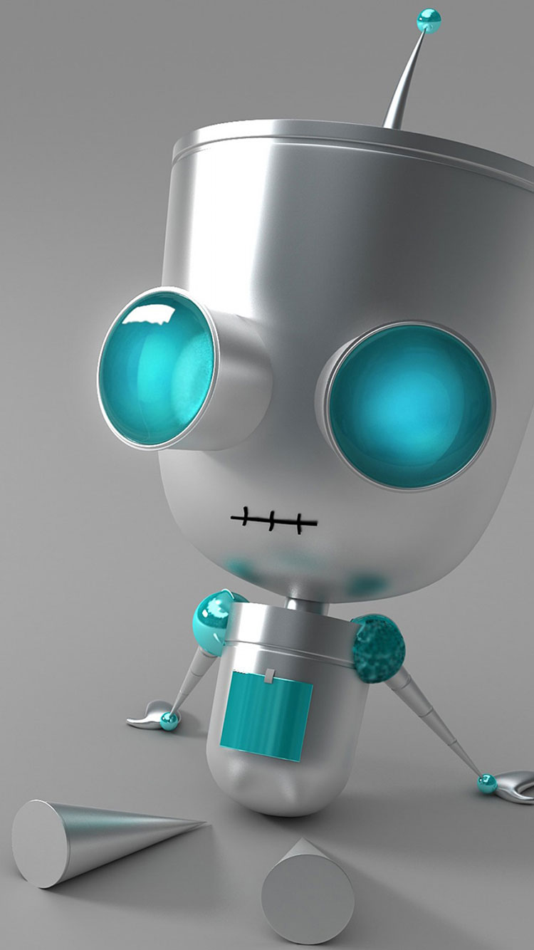 Robot iPhone Wallpaper 8