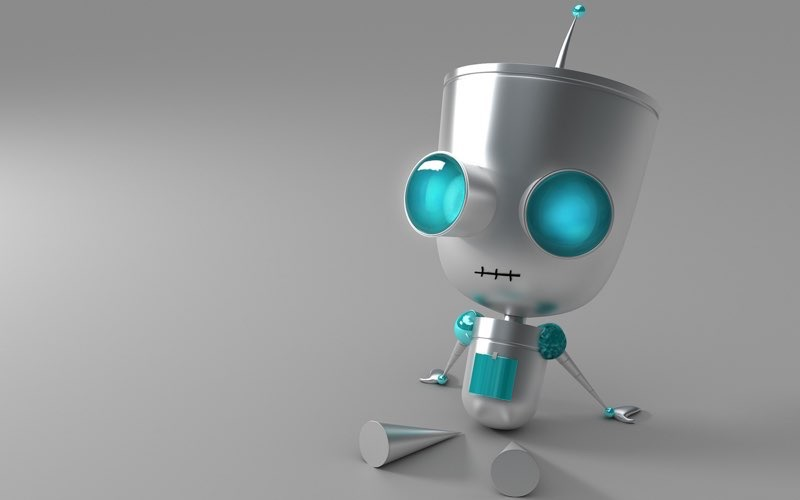 Robot Wallpaper 8