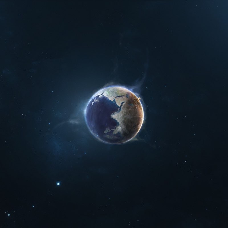 Space iPad Wallpaper 15