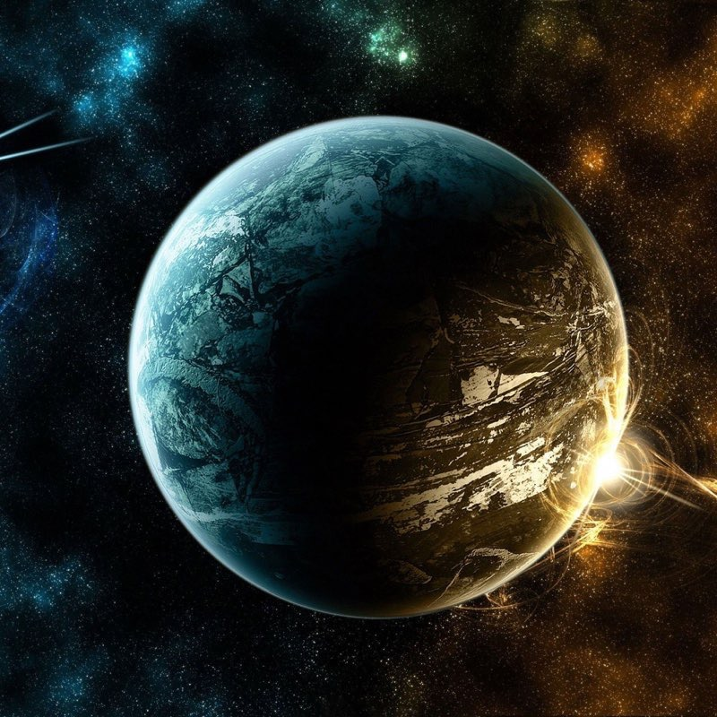 Space iPad Wallpaper 30
