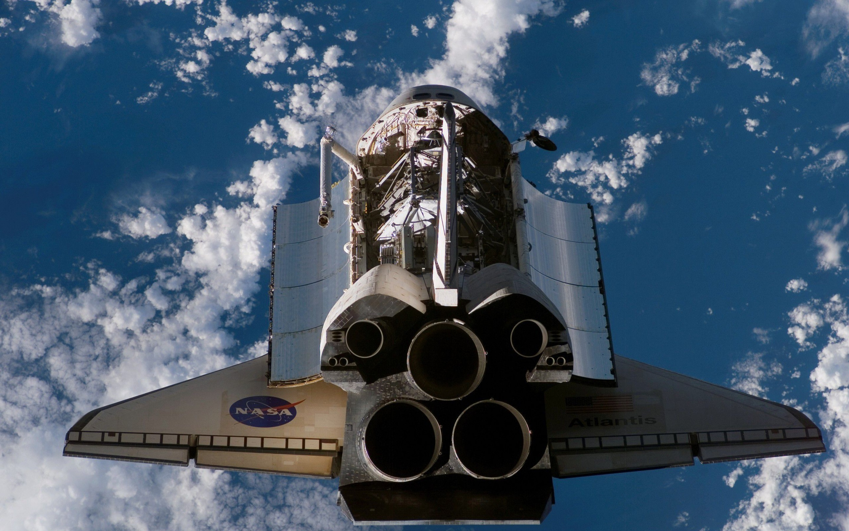 30 super hd space wallpapers - Nasa space shuttle wallpaper ...
