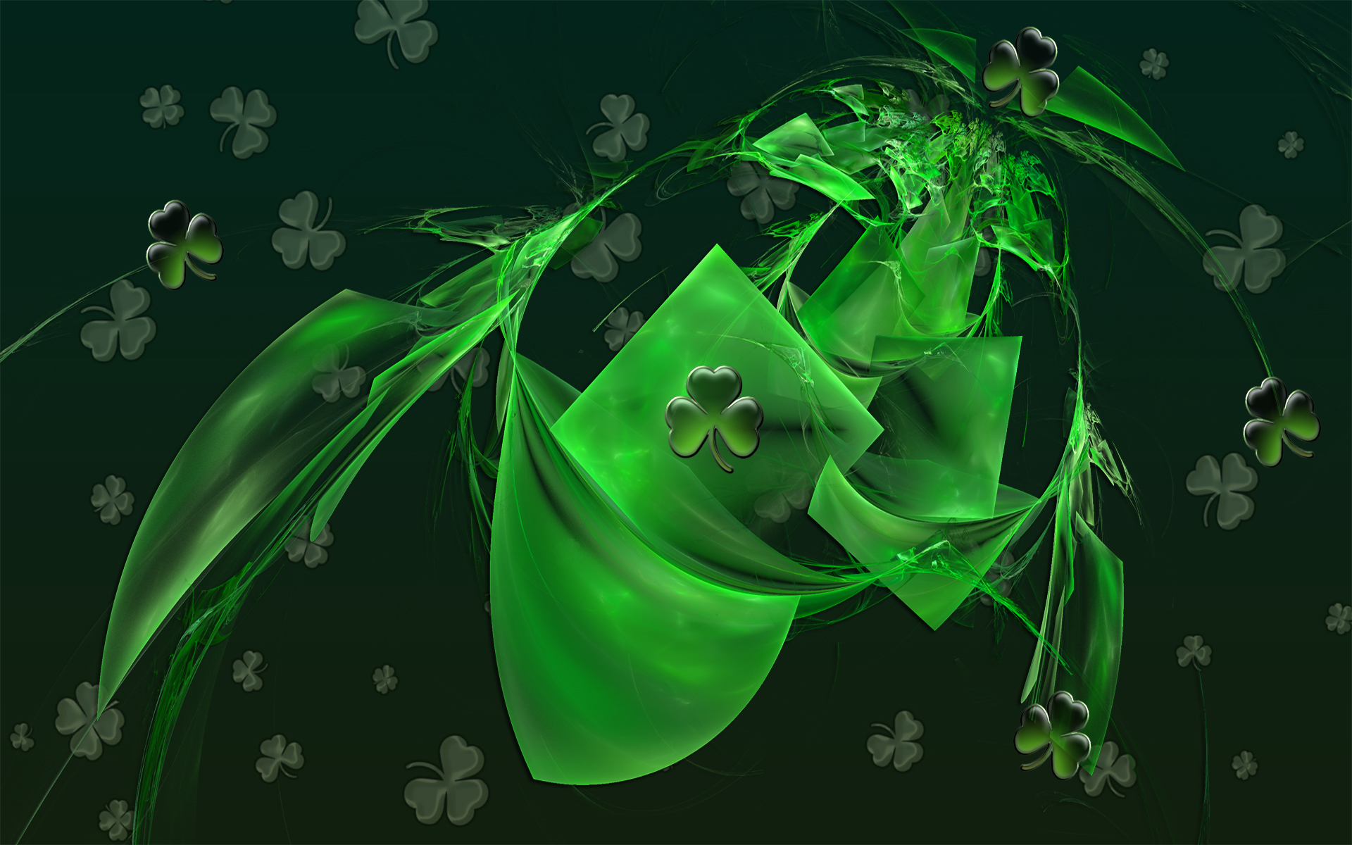 12 lucky st patty s day backgrounds