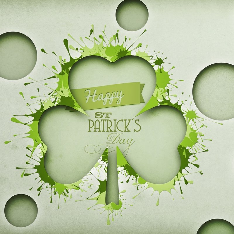 St. Patty's Day iPad Background 1