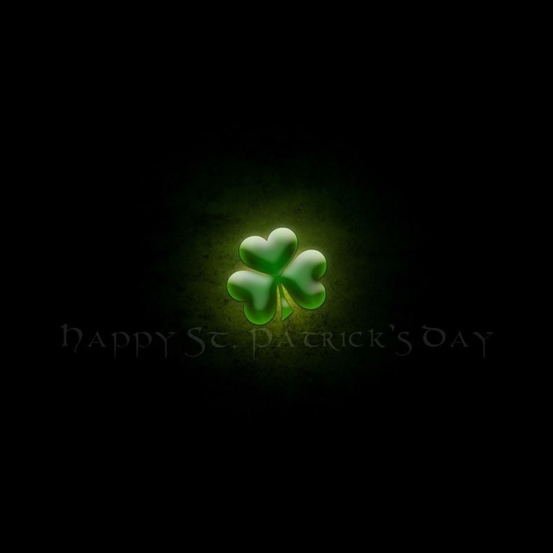 St. Patty's Day iPad Background 11