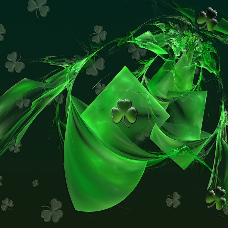 St. Patty's Day iPad Background 3