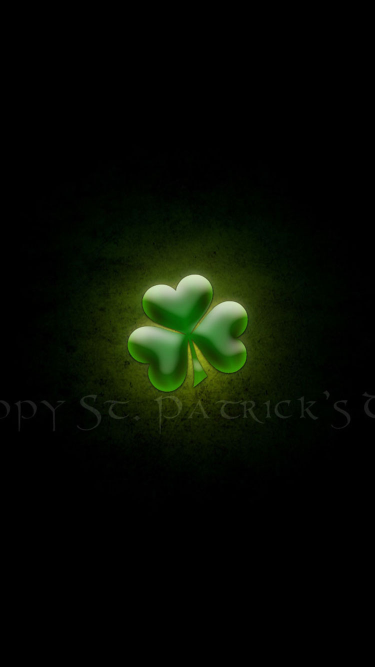 St. Patty's Day iPhone Background 11