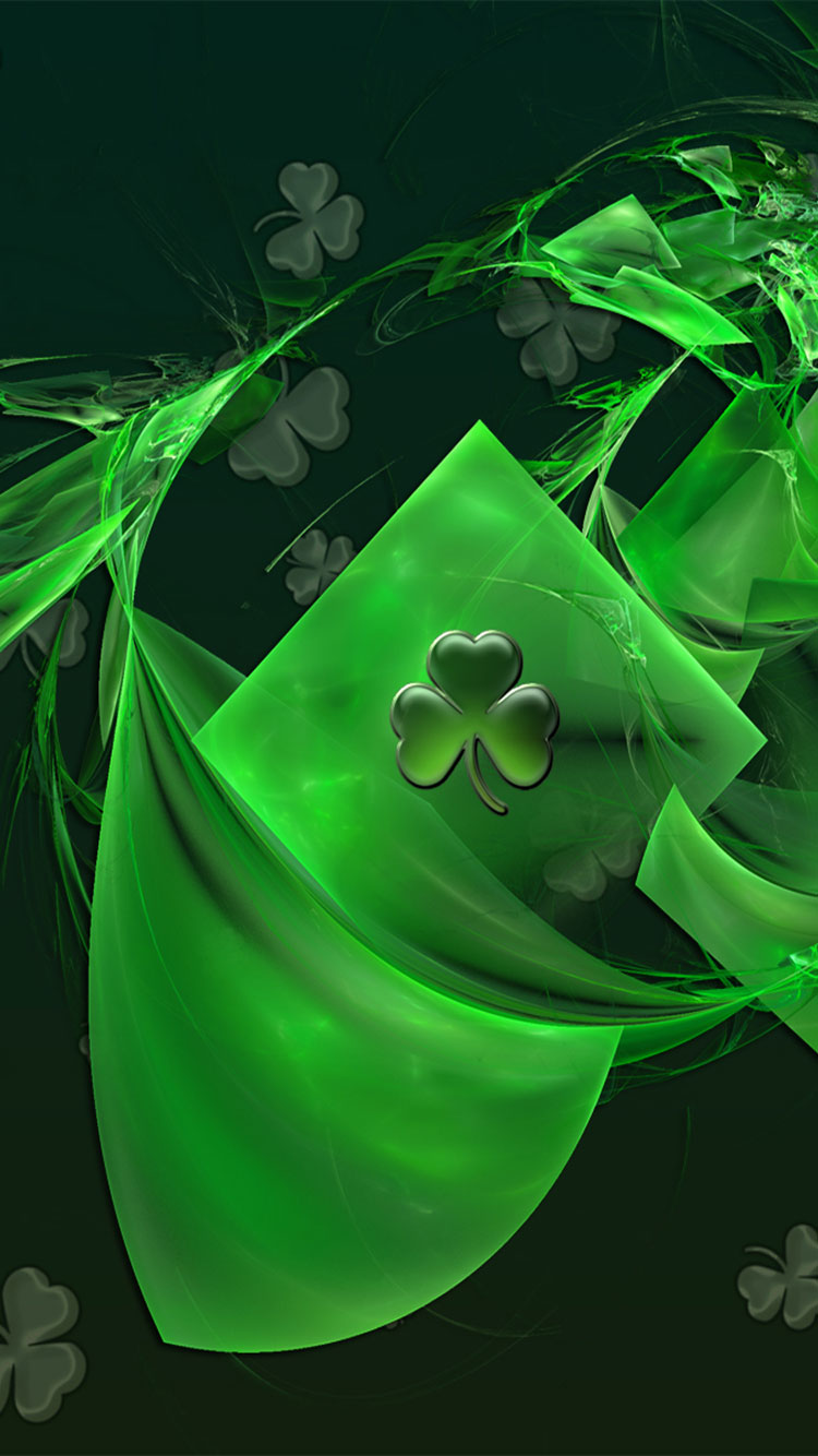 St. Patty's Day iPhone Background 3