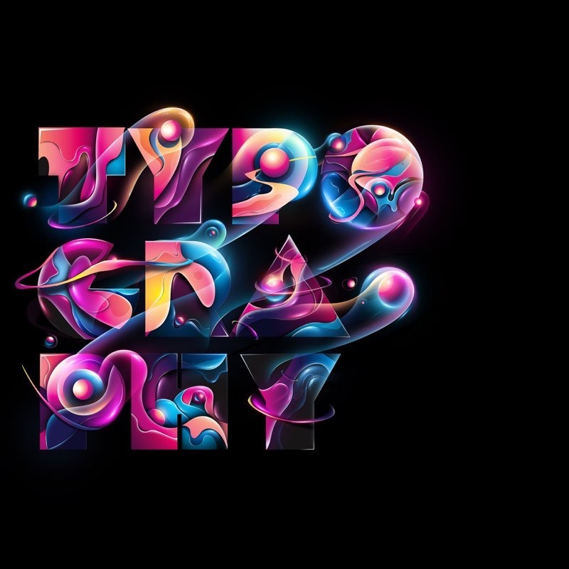 Typography iPad Wallpaper 17