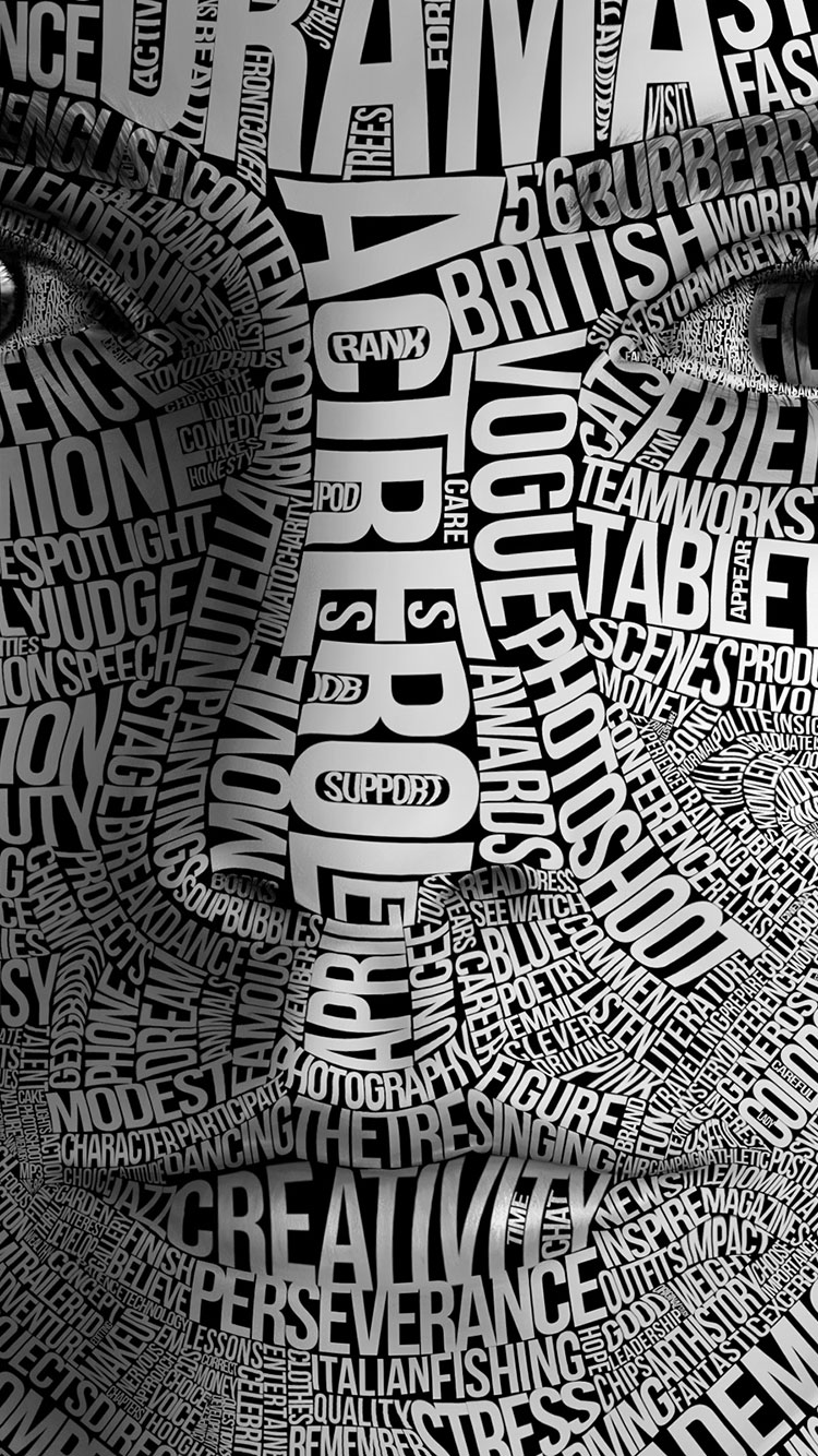 20 hd typography iphone wallpapers