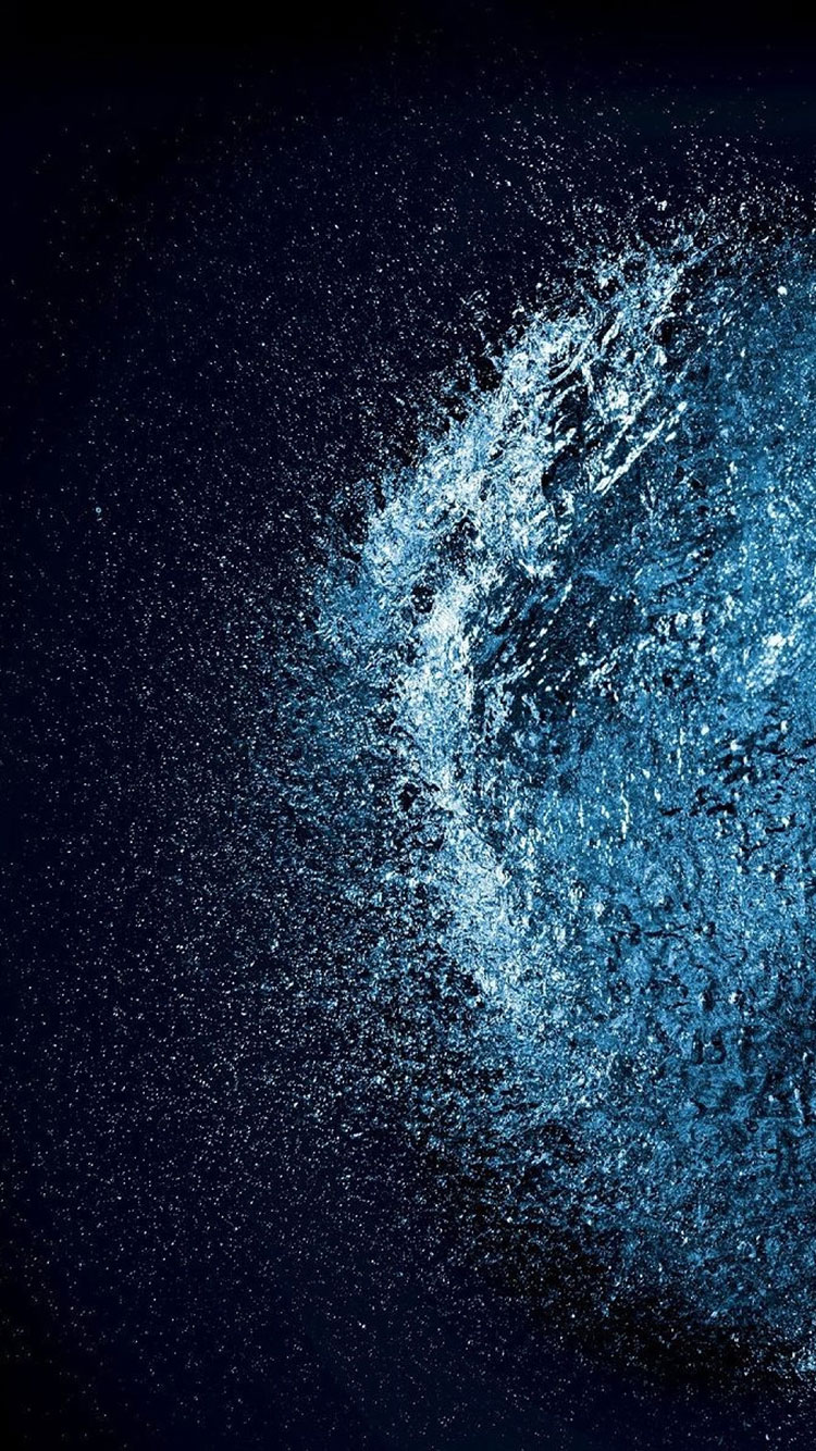 Water Art iPhone Wallpaper 11