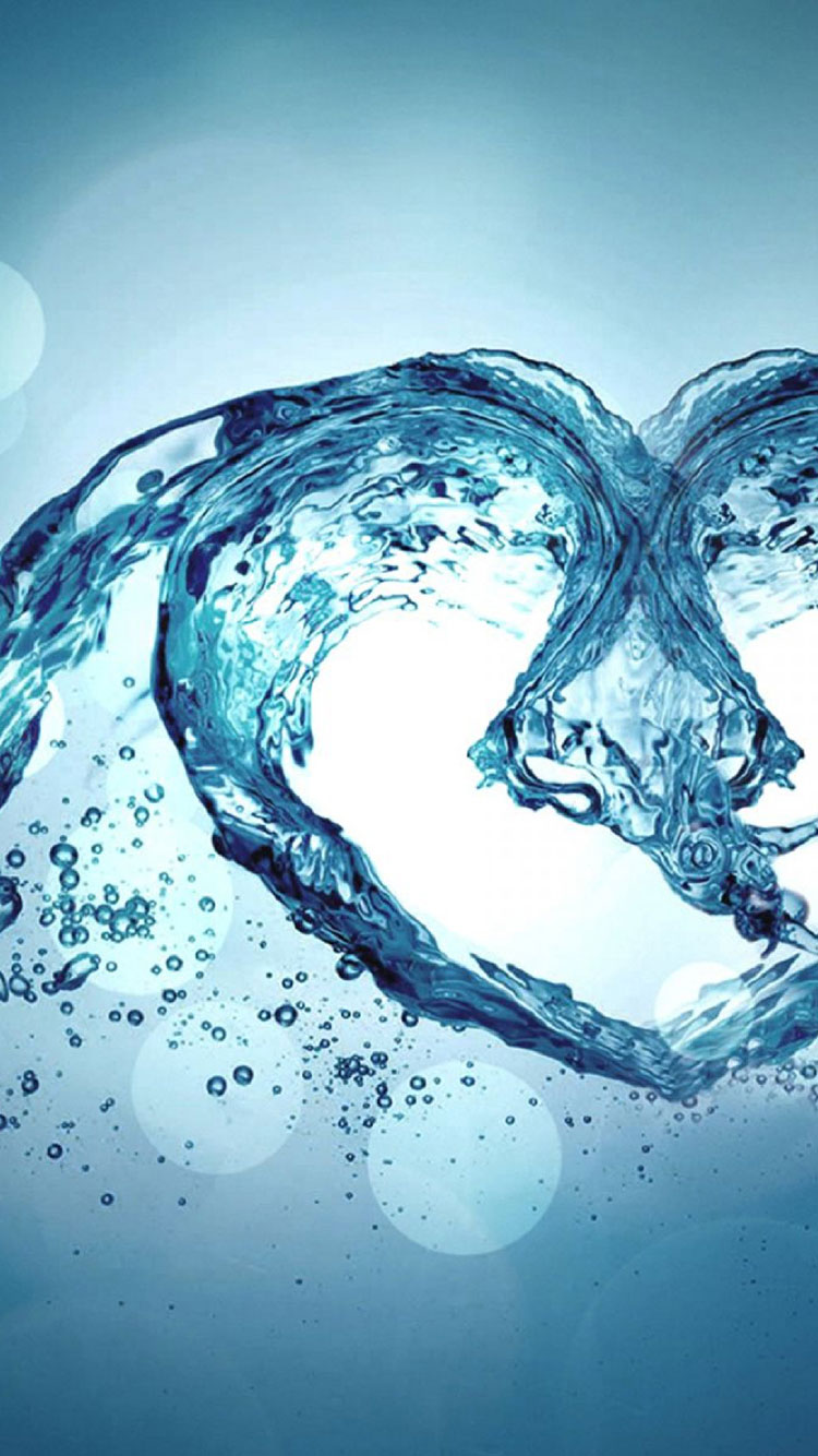 Water Art iPhone Wallpaper 6