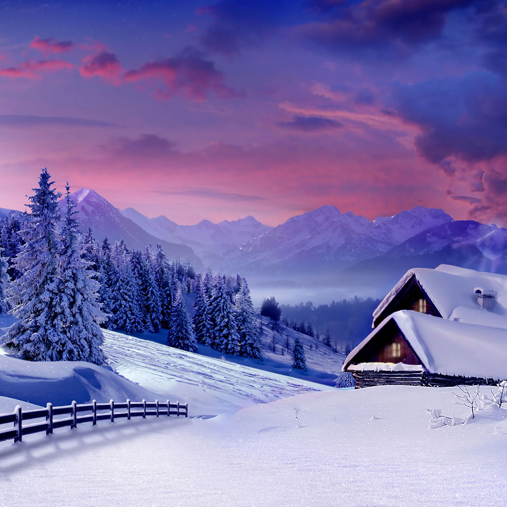 Romantic Designs 25 Winter Ipad Wallpapers
